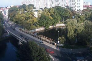 Центр города Колобжег в Польше