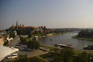 Архитектурный комплекс Вавель в Кракове в Польше