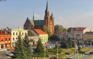 Центр города Турек в Польше