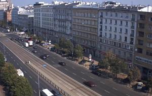 Маршалковская улица в Варшаве