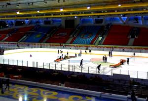 """Ледовый дворец """"Алау"""" в Алматы в Казахстане"""