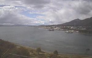 Пролив Бигля в Пуэрто-Уильямс в Чили