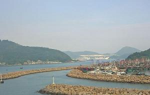 Бухта в районе Сайваньхо в Гонконге