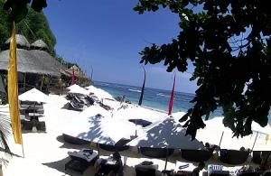 Пляж Карма-Бич на острове Бали в Индонезии