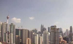Панорама Куала-Лумпура в Малайзии