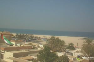 Пляж Кайт-Бич в Дубае в ОАЭ