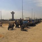 Выход боевиков из Алеппо по дороге Кастелло