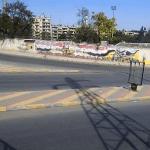 Выход боевиков через пункт пропуска Машарка в Алеппо