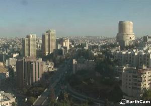 Центр города Амман в Иордании