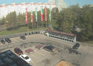 Центральный проспект в Зеленограде в Московской области