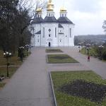 Екатерининская церковь в Чернигове на Украине