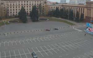 Главная площадь Днепропетровска на Украине