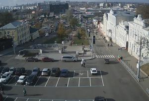 Бурсацкий спуск в Харькове на Украине