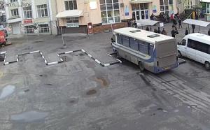 Автостанция №2 в Харькове на Украине