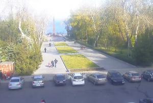 Аллея Славы в Одессе на Украине