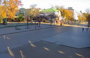 Дерибасовская улица в Одессе на Украине