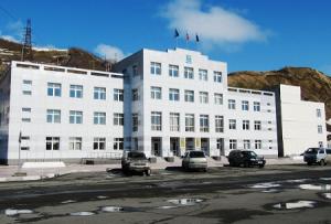 Здание Администрации города Невельск в Сахалинской области