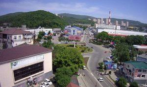 Площадь Багратиона во Владивостоке