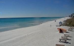 Пляж в городе Дестин в штате Флорида