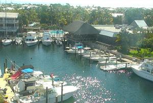 Бухта в Ки-Ларго во Флориде
