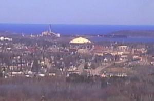 Панорама города Маркетт в Мичигане
