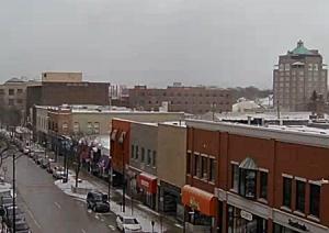 Панорама Траверс-Сити в штате Мичиган