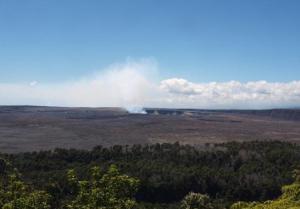 """Панорама Национального парка """"Гавайские вулканы"""" на острове Гавайи"""