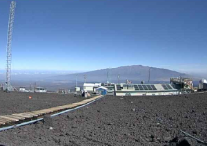 Обсерватория Мауна-Лоа на острове Гавайи