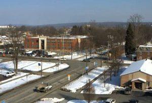 Панорама поселка Мидвилл в штате Пенсильвания