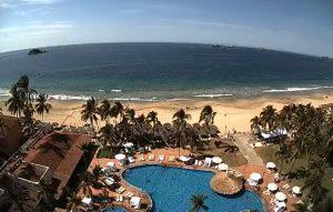 Вид из отеля Emporio Acapulco в Акапулько