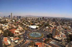 Панорама города Гвадалахара в Мексике