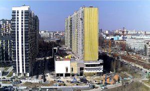 Строительство ЖК Летний сад в Москве