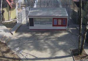 Кинотеатр Пионер в парке Сокольники в Москве