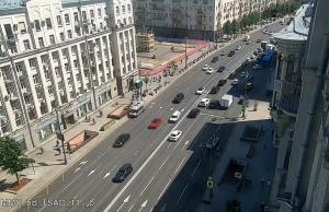 Тверская площадь и памятник Юрию Долгорукому в Москве