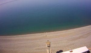 Пляж оздоровительного комплекса «Дагомыс» в Большом Сочи