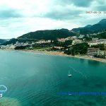 Пляж вдоль Бечичи и Рафаиловичи в Черногории