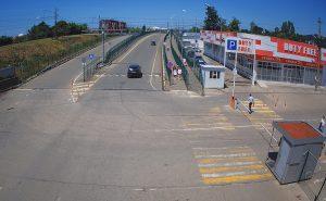 КПП Псоу на границе Абхазии и России