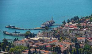 Панорама Сухума в Абхазии