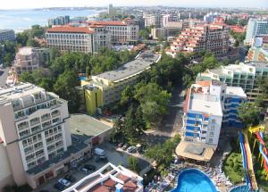 Отель Кубань на курорте Солнечный берег в Болгарии