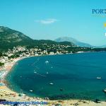 Пляж в городе Сутоморе в Черногории