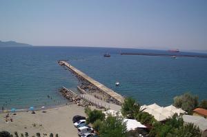 Морской порт Каламата в Греции