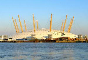 Купол тысячелетия в Лондоне в Великобритании