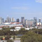 Панорама города Нашвилл в штате Теннесси в США