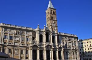 Базилика Санта-Мария-Маджоре в Риме в Италии