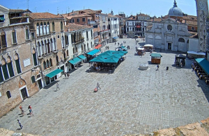 Площадь Санта-Мария-Формоза в Венеции в Италии