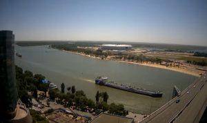 Левый берег реки Дон в Ростове-на-Дону
