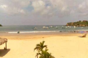 Пляж Айянге на Эквадоре