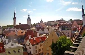 Старый город Таллина в Эстонии