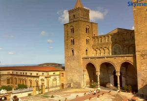 Кафедральный собор Чефалу на острове Сицилия