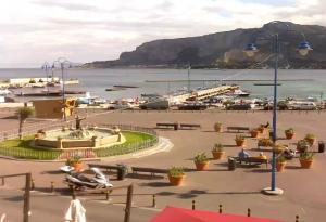 Площадь Монделло на острове Сицилия в Италии